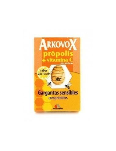 ARKOVOX PROPOLIS MIEL LIMON VIT C 20 COM
