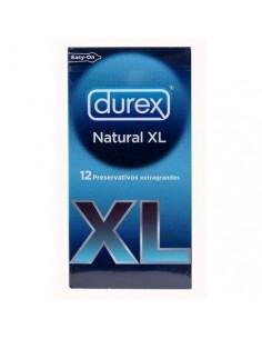 PROFILACTICOS DUREX NATURAL XL 12 UNI