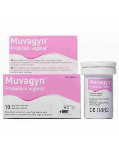 MUVAGYN PROBIOTICO VAGINAL 10 CAP