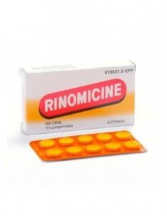 RINOMICINE ACTIVADA 10 COMPRIMIDOS