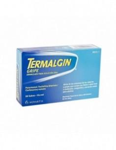 TERMALGIN GRIPE 10 SOBRES GRANULADO SOLUCION ORAL