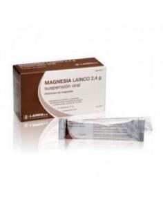MAGNESIA LAINCO 2.4 G 14 SOBRES SUSPENSION ORAL 12 ML