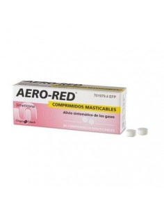 AERO RED 40 MG 30 COMPRIMIDOS MASTICABLES