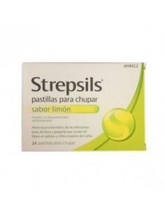 STREPSILS 24 PASTILLAS PARA CHUPAR LIMON