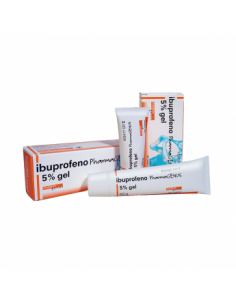 IBUPROFENO PHARMAGENUS 50 MG/G GEL TOPICO 30 G