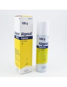 ALGESAL 100/10 MG/G AEROSOL TOPICO ESPUMA 100 G