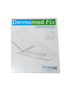 DERMOMED FIX APOSITO ESTERIL AUTOADH 9 CM X  5 C