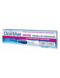 CLEARBLUE TEST EMBARAZO DIGITAL 1 CT