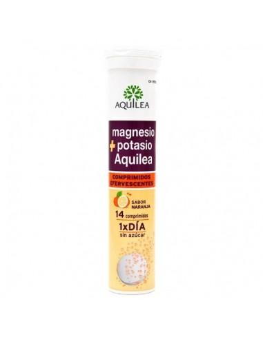 Aquilea Magnesio Potasio Efervescente 14 Comprimidos