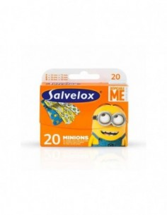 SALVELOX APOSITO ADHESIVO MINIONS 20 APOSITOS IN