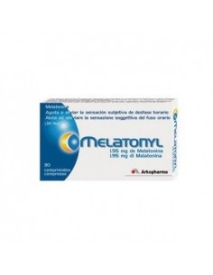 MELATONYL MELATONINA 1 95 MG 30 COMP