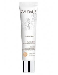CAUDALIE FLUIDO CON COLOR PIEL PERFECTA FPS20 LIGHT
