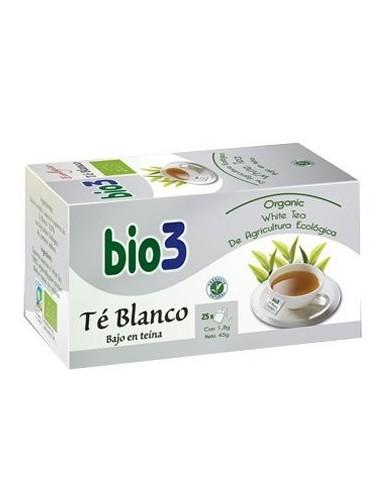 BIO 3 TE BLANCO 25 BOLS