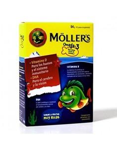 MOLLER'S OMEGA 3 45 GOMINOLAS