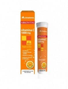 Vitamina C 1000Mg + Zinc  Arkovital Comprimidos Efervescentes