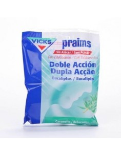 PRAIMS DOBLE ACCION SIN AZUCAR BOLSA