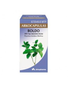 ARKOCAPSULAS BOLDO 260 MG 48CAPS