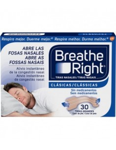 TIRAS NASAL BREATH RIGHT GDE 30 UN