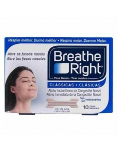 TIRAS NASAL BREATH RIGHT GDE 10 UN