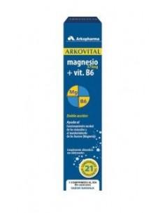 ARKOVITAL MAGNESIO 375 mg-21 + B6 comp. efervescentes