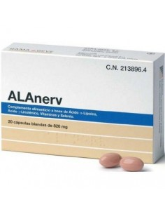 ALANERV 30 CAPS BLANDAS